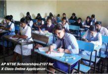 AP NTSE Scholarships-2107 for X Class