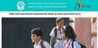 CBSE 12th Class Results Expected This Week at www.cbseresults.nic.in