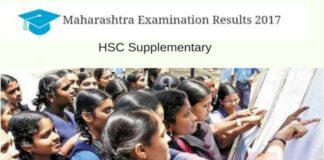 Maharashtra HSC Supplementary Results-2017