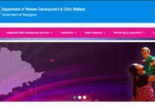 Telangana Anganwadi Teacher, Helper Online application at wdcw.tg.nic.in