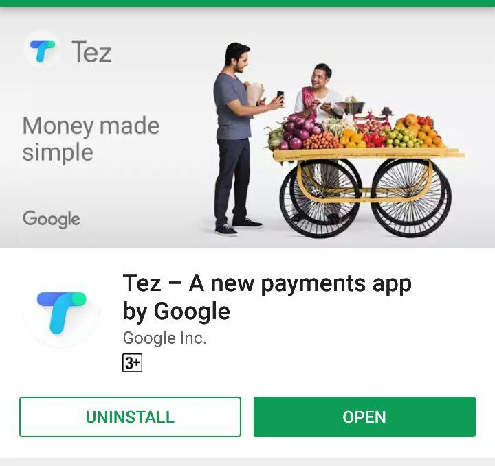 Google Tez App Launching for Easy Digital Pay on Monday