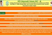 NTR Vidyonnathi Scheme 2018 Schedule released @jnanabhumi.ap.gov.in