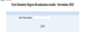 SK University Degree 1st Semester November results Declared, Check Results @ skugexams.in