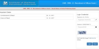 IBPS CWE RRB-VI Officers Scale 1 Result Released Now at ibps.sifyitest.com