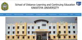 Kakatiya University Degree Admissions Released, Apply now at sdlceku.co.in