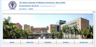 AIIMS Delhi Junior Resident Recruitment 194 Posts Online Apply at aiimsexams.org