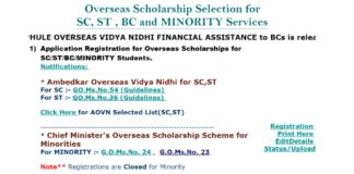 Ambedkar Overseas Vidya Nidhi Scheme Guidelines released