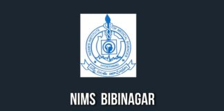 NIMS Bibinagar creation of 873 posts in two phases