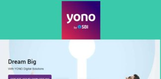 SBI YONO Digital bank App for apply loans, open savings account etc.