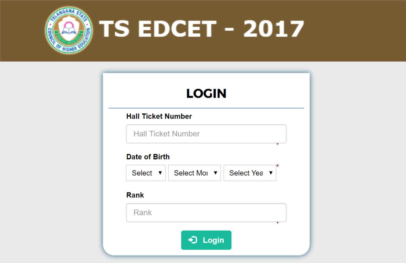 Category Seat >> Telangana Edcet 2017 Category B Seat Allotment Dates Extended