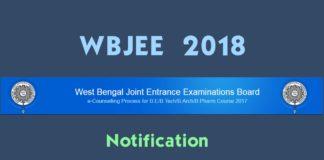 WBJEE 2018 Notification, eligibility, Exam date, syllabus