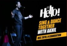Akhil Akkineni Hello Movie Pre event Video live streaming