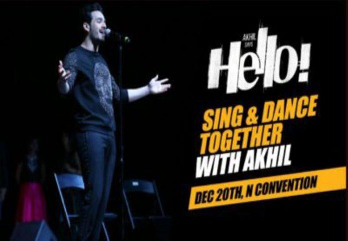 Akhil Akkineni Hello Movie Pre event Video live streaming