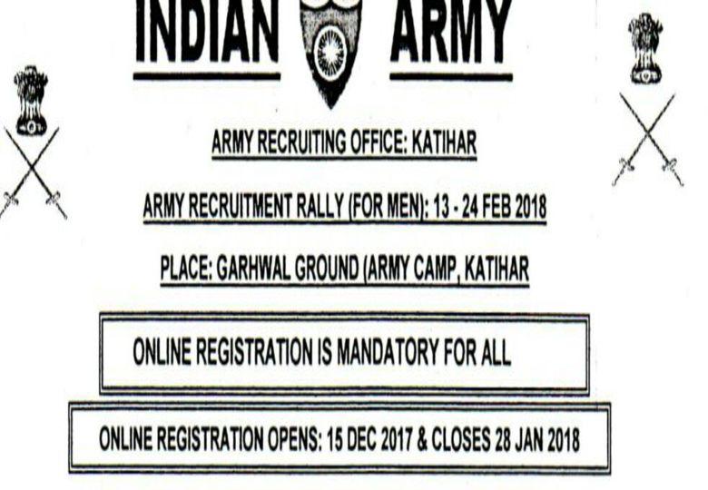 Latest Vacancies Open Army Bharti 2018 19 – Wonderful Image