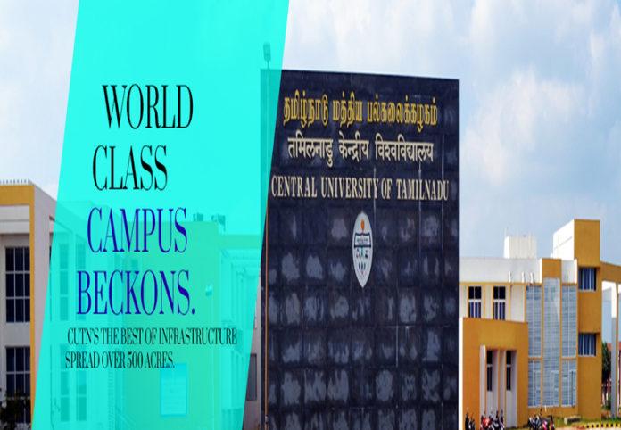 Tamil Nadu Central University 66 Teaching Posts apply @cutn.ac.in