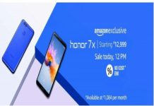 Honor 7X with Full View display, dual cameras sale today via Amazon