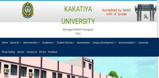KU Degree Exam Time Table 2017 Revised dates announced