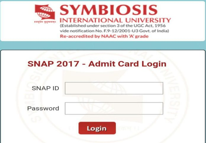 SNAP Admit Card 2017 Released Download Hall Ticket at snaptest.org.