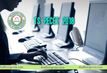 TS PECET 2018 Online Exam Schedule dates released at www.tsche.ac.in