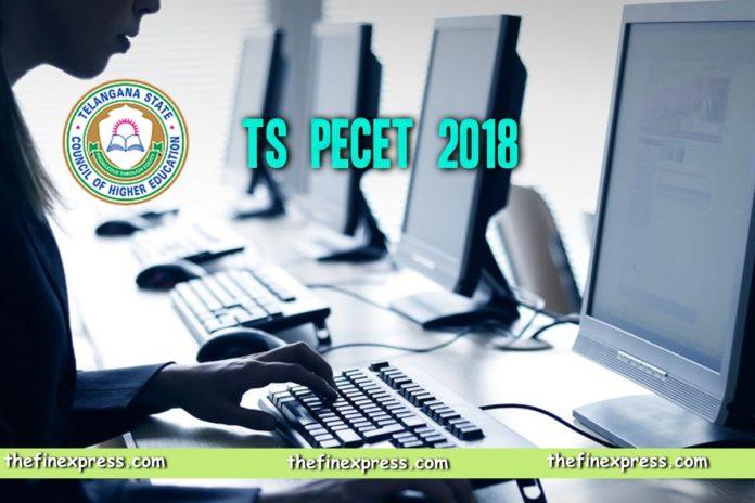 TS PECET 2018 Online Exam Schedule dates released at www.tsche.ac.in