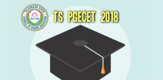 TS PGECET 2018 Schedule released, Online exam on May 25