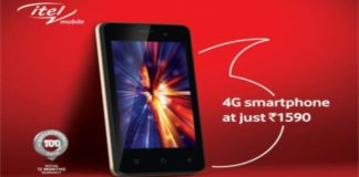 Vodafone Launches Itel A20 4G smartphone effective price of Rs 1,590