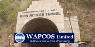 WAPCOS Civil Engineers 122 posts announced, last date December 15