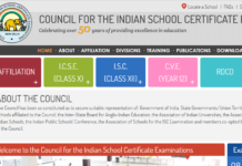 ISC Class 12 Exam Final Time Table 2018 Released at cisce.org
