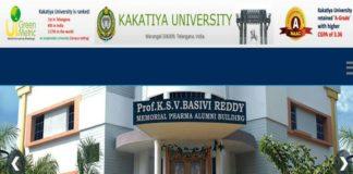 Kakatiya University PG, LLM Exams Fee due dates out