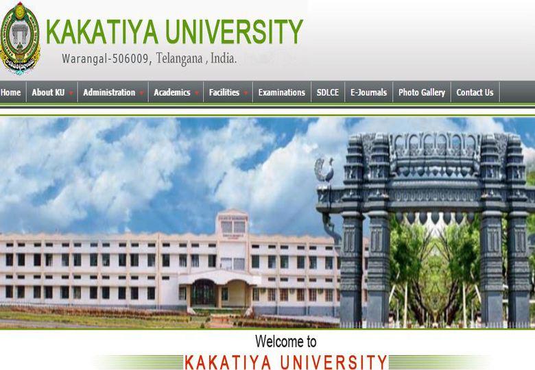 Kakatiya University Exam Time Table