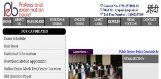 MP Vyapam Patwari Official Answer Key released at vyapam.nic.in