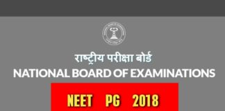 NBE NEET PG 2018 results declared at neetpg