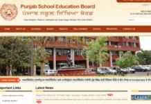 Punjab PSEB Matric Date Sheet 2018 Released at pseb.ac.in
