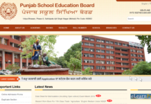 Punjab Senior Secondary Date Sheet 2018 Released at pseb.ac.in