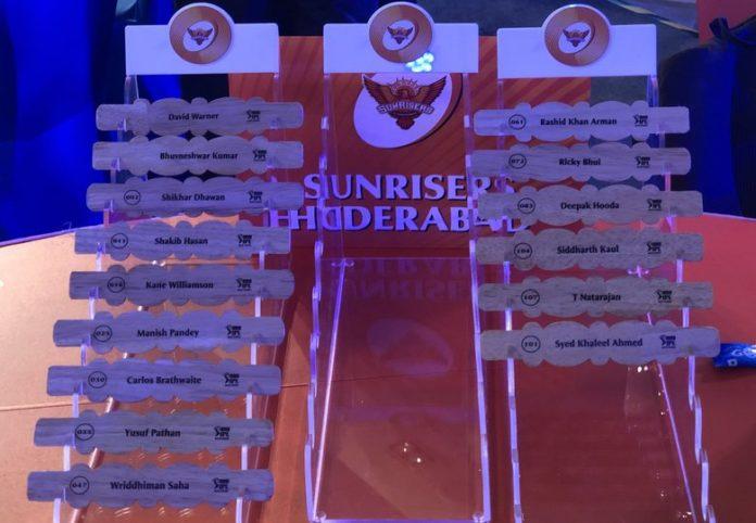 IPL 2018: Sunrisers Hyderabad Season 11 Cricket Team Players list