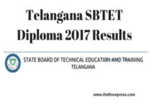 TS SBTET Diploma 2017 Results C16, C14 Released