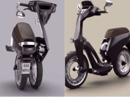 Ujet Folding Electric Smart Scooter Launched At CES
