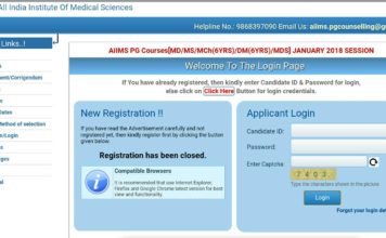 AIIMS PG Counselling 2018: Seat Allotment Round 1 and 2 Schedule