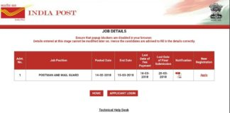 AP Postman, Mail Guard 245 Posts Apply Application Opened now at appost.in