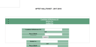 AP TET 2018 Hall Tickets released, Download now at aptet.apcfss.in