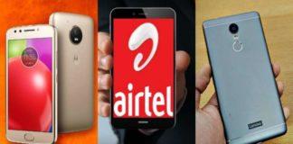 Airtel, Motorola to offer 4G smartphones with Rs 2000 cashback For Moto C, Moto E4, Lenovo K8 Note