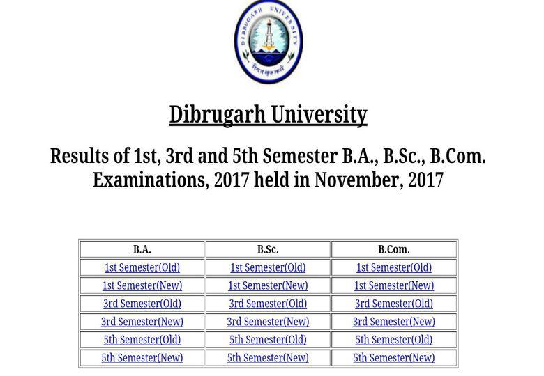By Photo Congress    Dibrugarh University B ed 3rd Semester Result