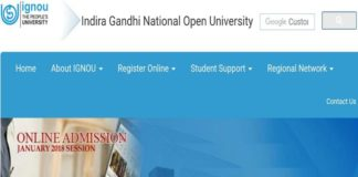 IGNOU Term End December Examination Result Released at ignou.ac.in