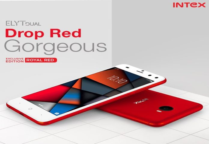 Intex ELYT Dual launched Royal Red Color for Rs 6999: Know Specifications