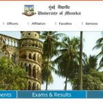 MU University TYBSc 5th Sem Results released at mu.ac.in