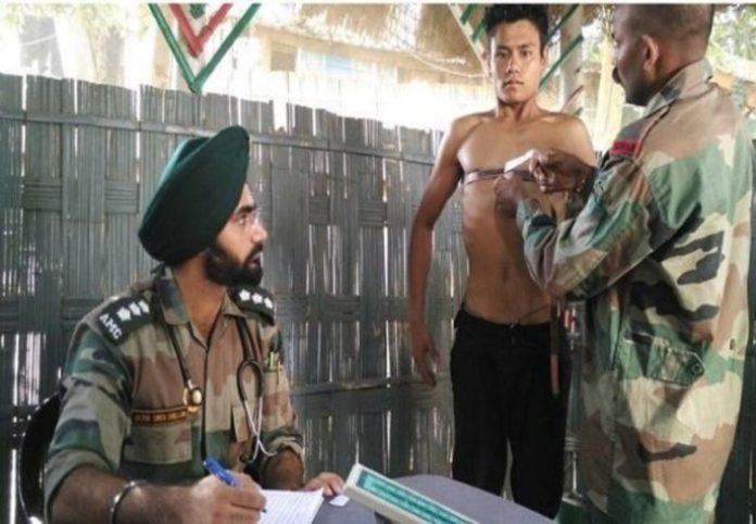 Nagaland Army Rally Recruitment ARO Rangapahar at Tuensang; Apply before March 24