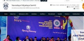 Navodaya Vidyalaya Samiti TGT Librarian Certificate Verification Schedule Released