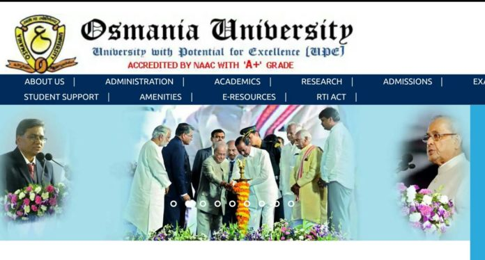 OU UG Degree Exams Results Released at Osmania.ac.in