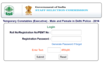 SSC Delhi Police Constable Result Released at ssc.nic.in