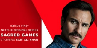 Saif Ali Khan Sacred Games Movie First Look Poster Released